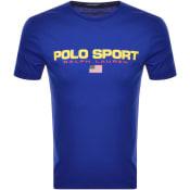 Product Image for Ralph Lauren Polo Sport Logo T Shirt Blue