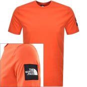 Product Image for The North Face Fine 2 T Shirt Orange