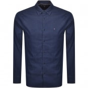 Product Image for Tommy Hilfiger Long Sleeved Denim Shirt Navy