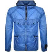 Product Image for CP Company Goggle Hood Jacket Blue