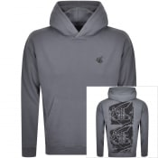 Product Image for Vivienne Westwood Small Orb Hoodie Grey