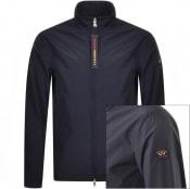 Product Image for Paul And Shark Full Zip Funnel Neck Jacket Navy