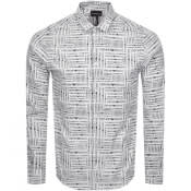 Product Image for Emporio Armani Long Sleeve Shirt White