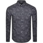 Product Image for Emporio Armani Long Sleeve Shirt Black