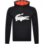 Product Image for Lacoste Sport Pullover Hoodie Black