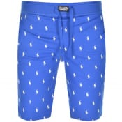 Product Image for Ralph Lauren Logo Shorts Blue