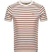 Product Image for Pretty Green Multi Stripe T Shirt Cream