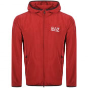 Product Image for EA7 Emporio Armani Core Hooded Jacket Red