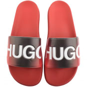 Product Image for HUGO Match Sliders Red