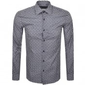 Product Image for BOSS HUGO BOSS Slim Fit Jango Shirt Navy