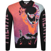 Product Image for MCQ Alexander McQueen Frentic Knit Jumper Black
