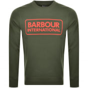 Product Image for Barbour International Crew Neck Sweatshirt Green