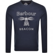 Product Image for Barbour Beacon Crew Neck Sweatshirt Navy