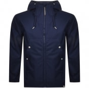 Product Image for Pretty Green Soft Shell Hooded Jacket Navy