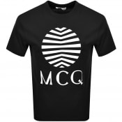 Product Image for MCQ Alexander McQueen Logo T Shirt Black