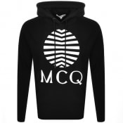 Product Image for MCQ Alexander McQueen Logo Hoodie Black