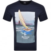 Product Image for Barbour Outboard T Shirt Navy