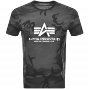 Product Image for Alpha Industries Basic Logo T Shirt Grey