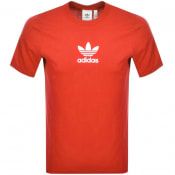 Product Image for adidas Originals Logo T Shirt Red