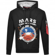 Product Image for Alpha Industries Mission To Mars Hoodie Black