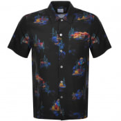 Product Image for PS By Paul Smith Casual Short Sleeved Shirt Black