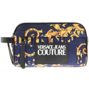 Product Image for Versace Jeans Couture Baroque Washbag Navy