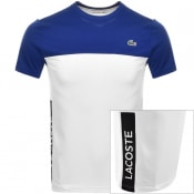 Product Image for Lacoste Sport Performance Block Logo T Shirt White