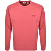 Product Image for Levis Crew Neck Logo Sweatshirt Red