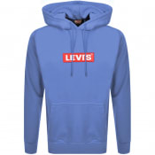 Product Image for Levis Relaxed Graphic Logo Hoodie Blue