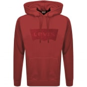 Product Image for Levis Graphic Logo Hoodie Red