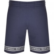 Product Image for EA7 Emporio Armani Logo Shorts Navy