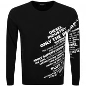 Product Image for Diesel S Girk S1 Sweatshirt Black