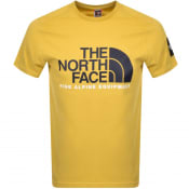Product Image for The North Face Fine 2 T Shirt Yellow
