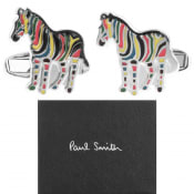 Product Image for PS By Paul Smith Zebra Cufflinks Set Silver