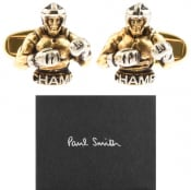 Product Image for Paul Smith Boxer Cufflinks Set Gold