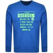 Product Image for Diesel S Girk J3 Sweatshirt Blue