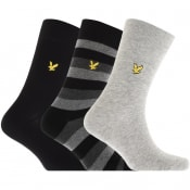 Product Image for Lyle And Scott Three Pack Socks