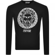 Product Image for Versace Jeans Couture Logo Knit Jumper Black