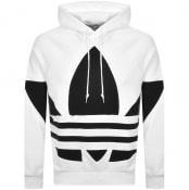 Product Image for adidas Originals Trefoil Hoodie White