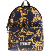 Product Image for Versace Jeans Couture Baroque Backpack Blue