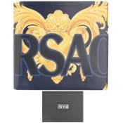 Product Image for Versace Jeans Couture Logo Wallet Blue