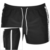 Product Image for Calvin Klein Drawstring Taped Swim Shorts Black