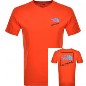Product Image for The North Face Short Sleeved Extreme T Shirt Red