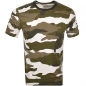 Product Image for Nike Crew Neck Camo T Shirt Green