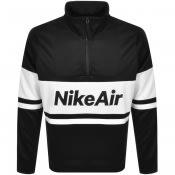 Product Image for Nike Air Half Zip Track Sweatshirt Black