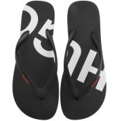 Product Image for HUGO On Fire Flip Flops Black