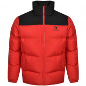 Product Image for Converse Star Quilted Puffer Jacket Red
