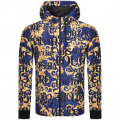 Product Image for Versace Jeans Couture Print Jacket Blue