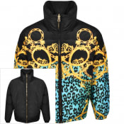 Product Image for Versace Jeans Couture Reversible Down Jacket Black