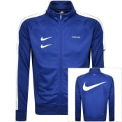 Product Image for Nike Full Zip Swoosh Track Sweatshirt Blue